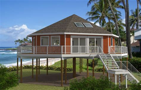 house plans on pilings pedestal piling homes cbi kit homes