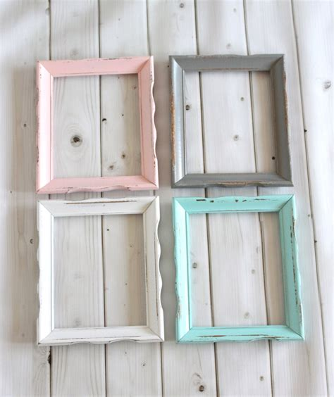 picture frames shabby chic rustic shabby chic frame wood frame curvy wavy wedding baby