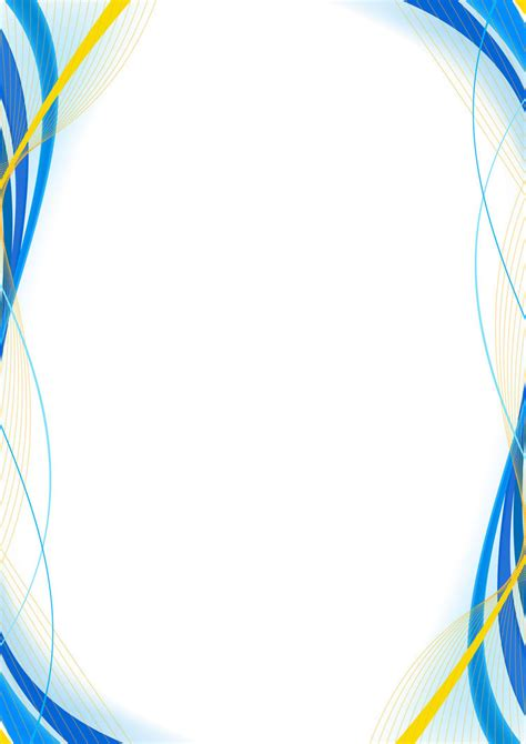 blue yellow wallpaper border blue and yellow border design version 2 right by