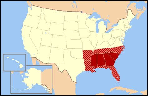 map of the south confederate flag as conceit not hatred constant geography