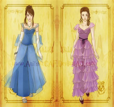 aspen and the blue dress books hp hermione yule by anitsirccaf on deviantart