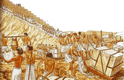 Imagenes De Egipcios Trabajando | la cruz del nilo las piramides egipcias