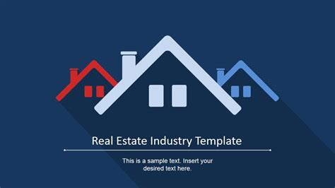 template real estate real estate industry powerpoint template slidemodel