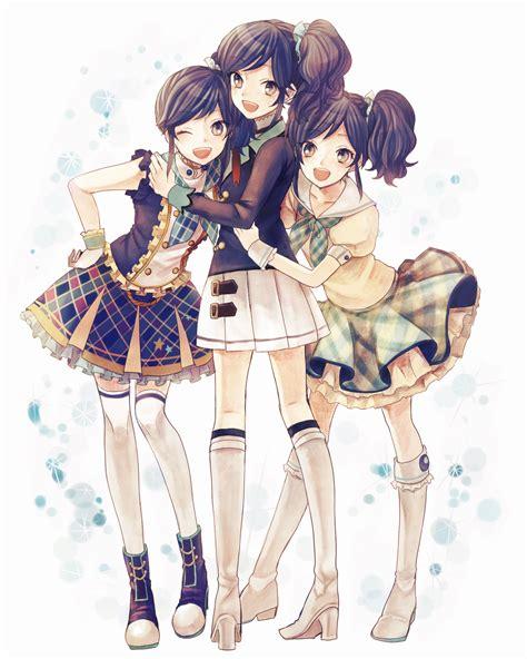 Anime 3 Friends the three secret secret