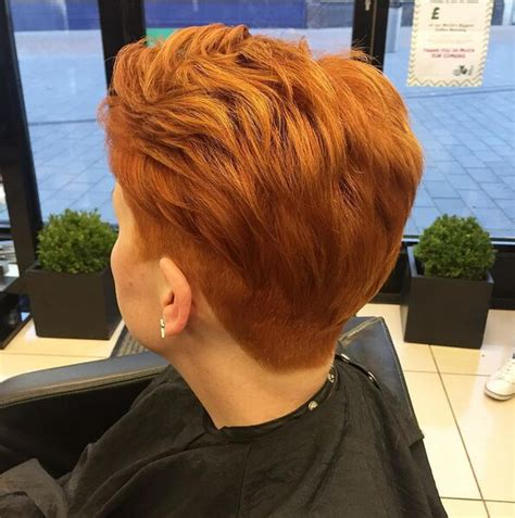 short layered hairstyles with short at nape of neck 27 233 l 233 gant coiffure undercut fantaisie check out chic