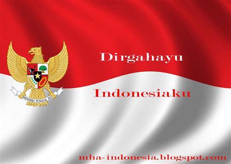 lirik lagu dirgahayu indonesiaku tanah air