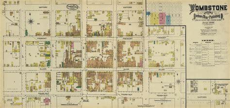 tombstone arizona map file tombstone insurance map 1888 jpg wikimedia commons