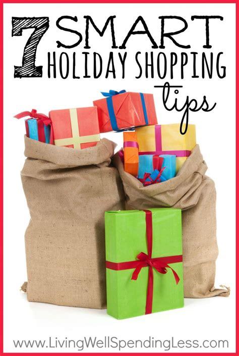 7 smart holiday shopping tips living well spending less 174