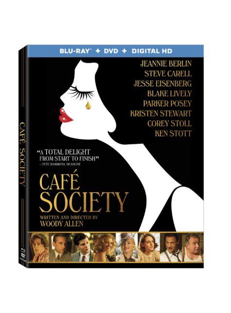 cafe dvd caf 233 society us dvd released october new dvd artwork