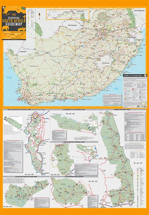 south africa map pdf south africa paper map infomap