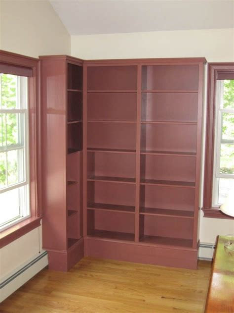 Built In Corner Bookcase Made Corner Bookcase By Property Vision Llc Custommade