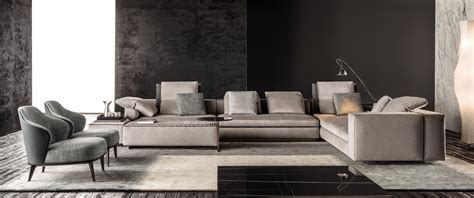 High Back Dining Room Chairs by Yang Modular Sofa Systems From Minotti Architonic