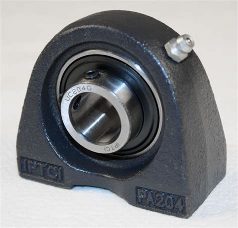 Iptci Pillow Blocks iptci ucpa204 tapped base pillow block bearing