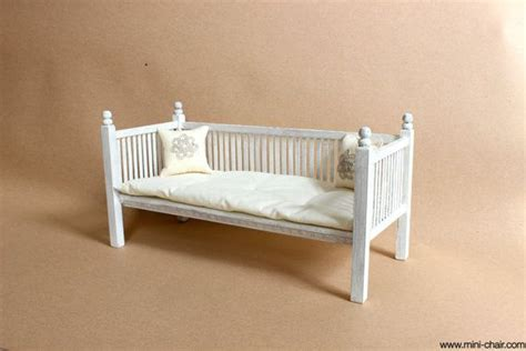 doll wooden daybed in 1 6 scale blythe barbie momoko