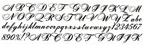tattoo cursive calligraphy fonts alphabet for tattoos calligraphy