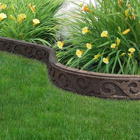 garden bed edging 25 best ideas about flower bed edging on pinterest