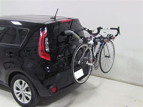 2016 kia soul yakima kingjoe pro 2 bike rack folding