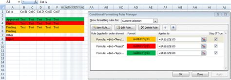 excel background color excel change background color of the row or range if a