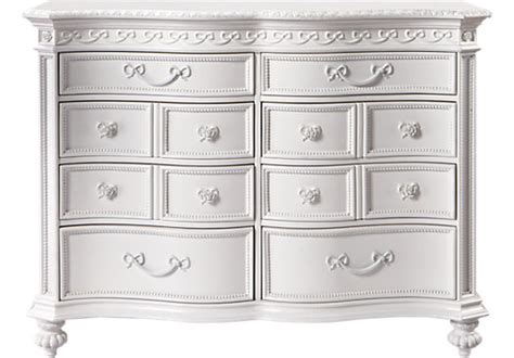 Princess Dresser by Disney Princess White 8 Drawer Dresser Disney
