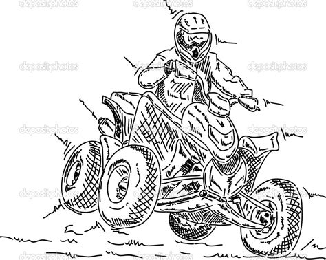Malvorlagen Fur Kinder Ausmalbilder Quad Kostenlos Coloring Pages Four Wheeler