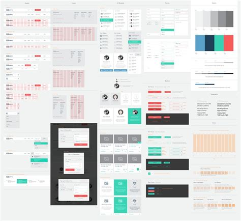 airbnb ui kit ui design styles collection