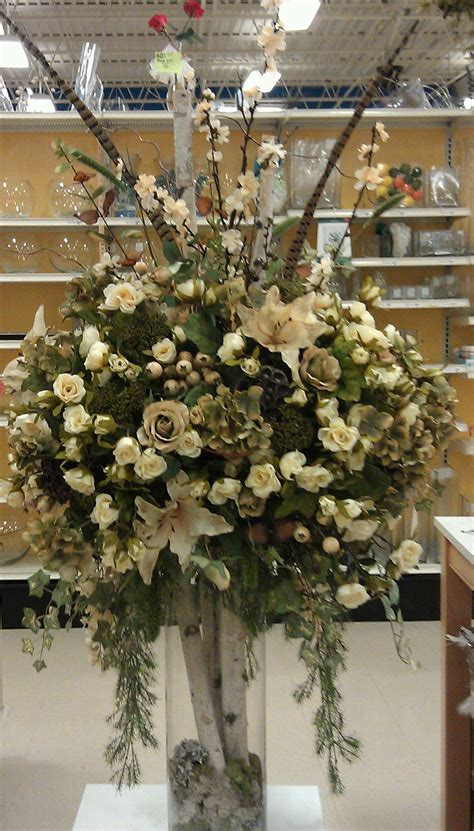 Large Flower Arrangements For Weddings by Large Floral Entryway Wedding Foyer Centerpiece Hotel