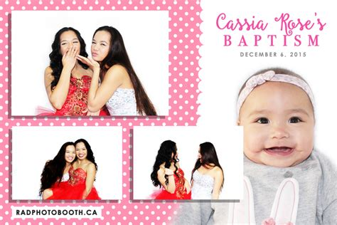 photo booth layout for baptism rad photo booth gallery gta