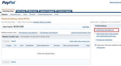 buat akun paypal mandiri verifikasi paypal dengan bank lokal bca mandiri bni