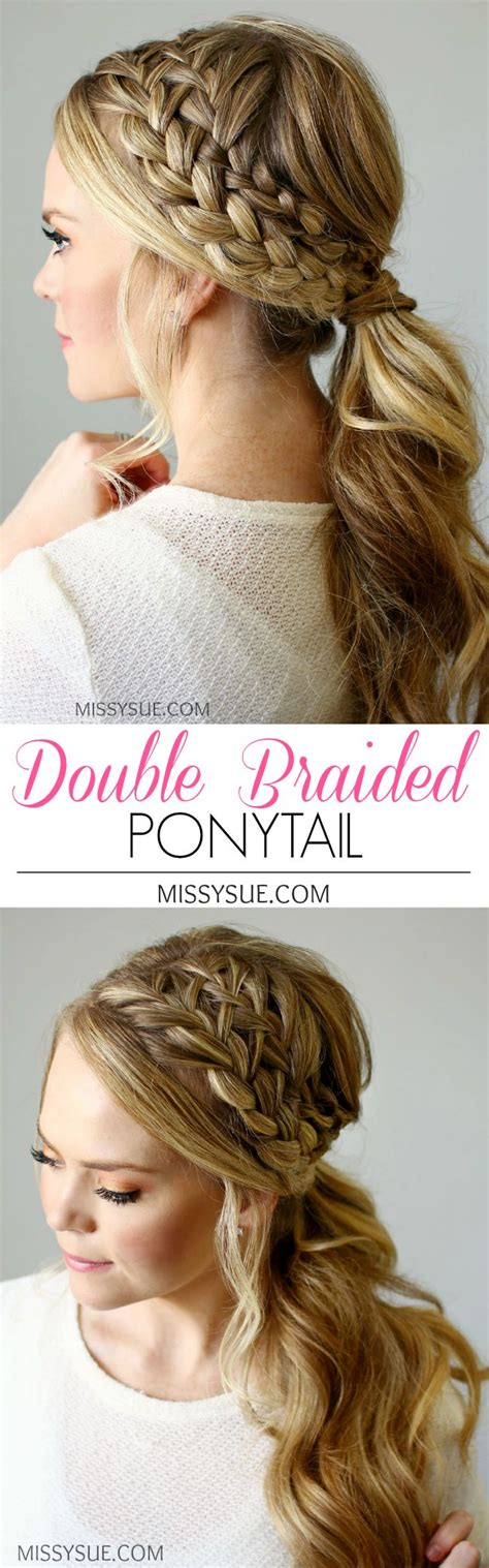ponytail bob cut instructions 25 best ideas about bridesmaid braided hairstyles on