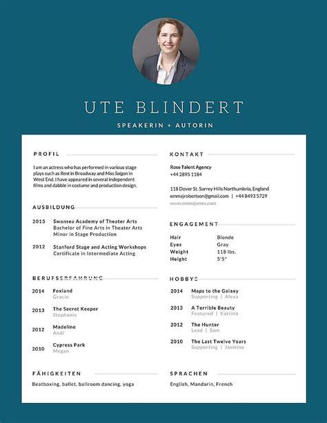 Kreativer Lebenslauf Vorlage by Kreative Lebensl 228 Ufe Mit Canva Erstellen Karriereletter