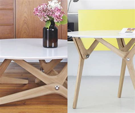 Coffee Table Transforms Into Dining Table This Coffee Table Transform Into A Dining Table In A Second Ideal Home