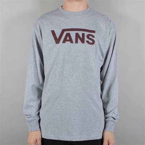T Shirt Skate Vans vans classic sleeve t shirt athletic port royale skate clothing from