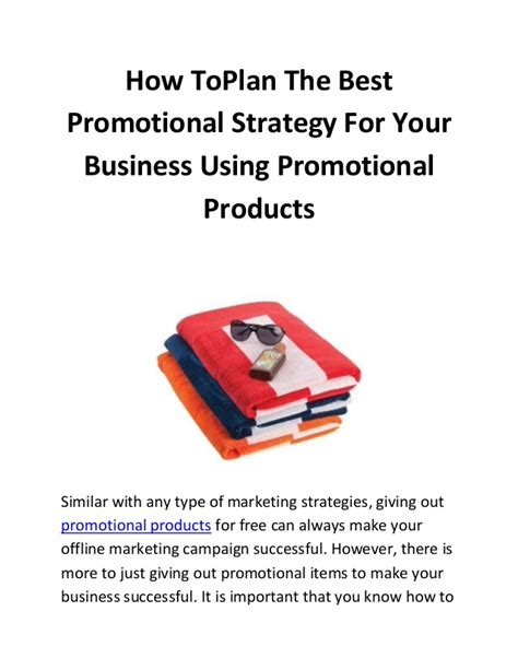 Best Business Giveaways - how to plan the best promotional strategy for your business using pro