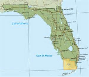 map of the everglades in florida where do the water conservation areas end and everglades