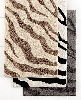 charter club bathroom rugs charter club bath rugs zebra collection bath towels