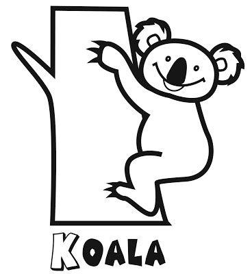dibujos para colorear koala el rincon de la infancia koalas para pintar