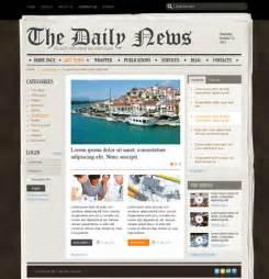 joomla newspaper template newspaper v2 5 joomla theme best website templates