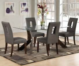 Dining Room Table Sets simple dining room design with square glass dining table