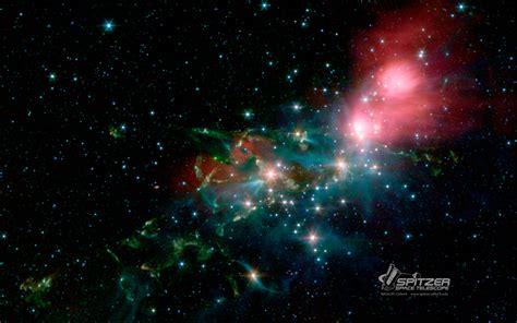 google themes universe wallpapers nasa spitzer space telescope