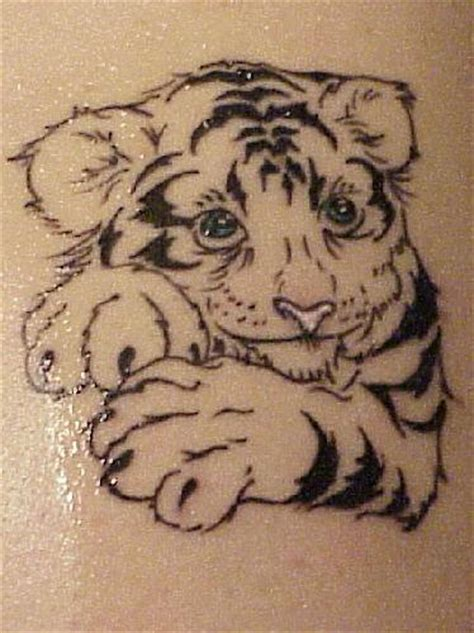 tiger cub tattoo designs tattoos tiger tattoos for
