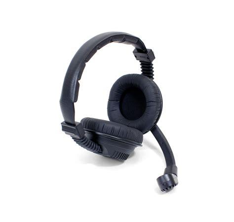 web and microphone heavy duty dual headset microphone mic 068