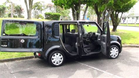 nissan cube back nissan cube 2006 black 1 5l auto