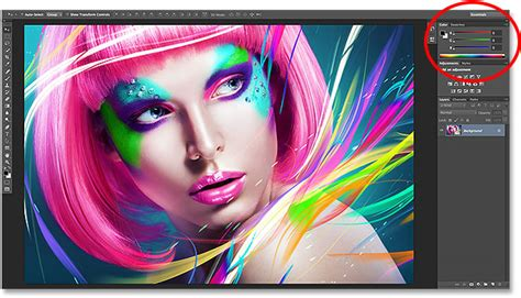 tutorial photoshop cc 2014 the improved and enhanced color panel photoshop cc 2014