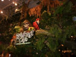 Rainforest Cafe Visiting California Rainforest Cafe