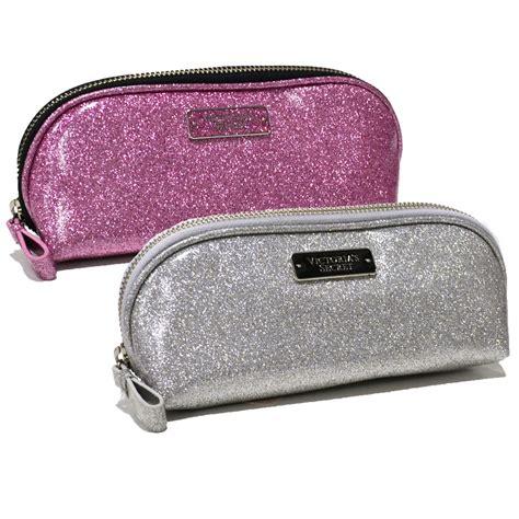 Secret Cosmetic Pouch 0024 s secret travel cosmetic makeup bag glitter zipper pouch vs new ebay