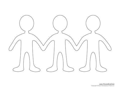 paper dolls template chain tim de vall comics printables for