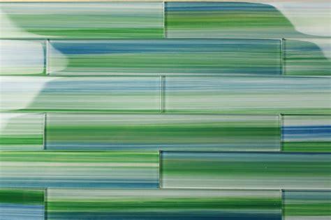 green blue glass subway tile blue green glass subway tile tidal 2x12 bodesi glass tile