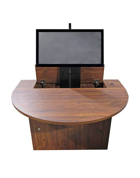 computer desk monitor lift computer desk with monitor lift desk design ideas