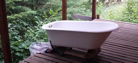 bathtub refinishing portland oregon irefinish antique clawfoot tub and sink restoration
