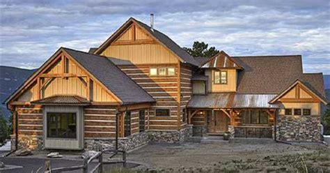 mountain home plans with walkout basement plan 12933kn dream mountain home plan mountain house